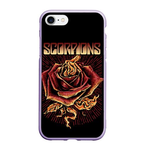 Чехол для iPhone 7/8 матовый Scorpions Фото 01