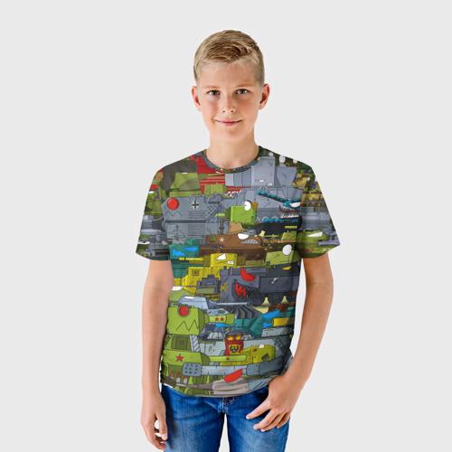 Детская футболка 3D Геранд шоп-Мир танков  Фото 01