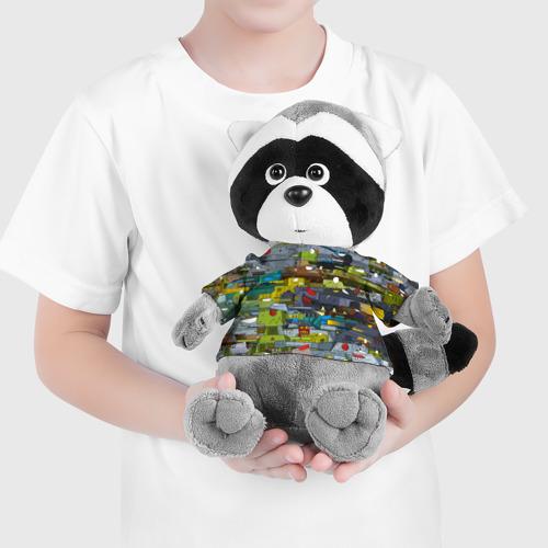 Игрушка Енотик в футболке 3D Геранд шоп-Мир танков  Фото 01