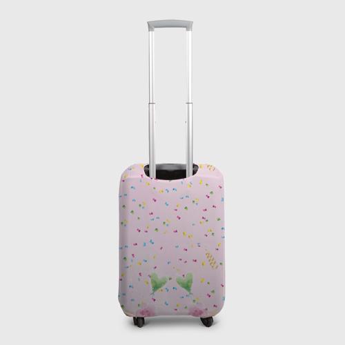 Чехол для чемодана 3D Милая совушка в очках Фото 01