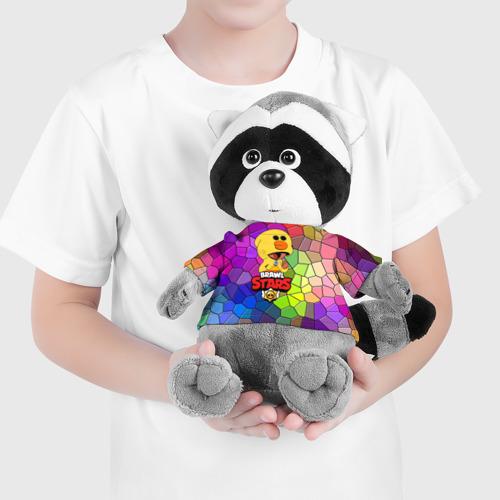 Игрушка Енотик в футболке 3D BRAWL STARS:LEON SALLY Фото 01