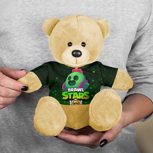 Игрушка Мишка в футболке 3D Brawl Stars SPIKE Фото 01