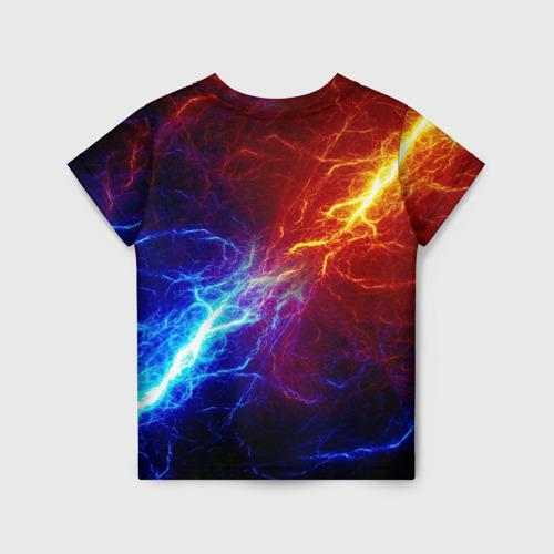 Детская футболка 3D БИТВА МОЛНИЙ / BATTLE FLASH за  1090 рублей в интернет магазине Принт виды с разных сторон