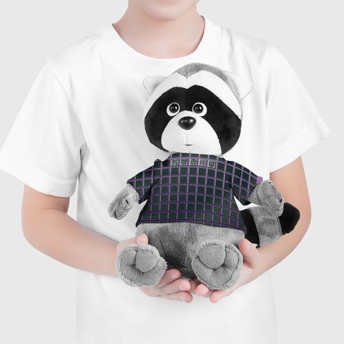 Игрушка Енотик в футболке 3D [B]Gamer Фото 01