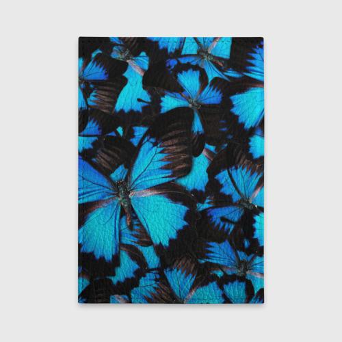 Обложка для автодокументов Рой бабочек Фото 01