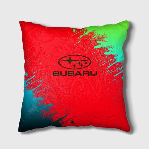 Подушка 3D SUBARU One фото