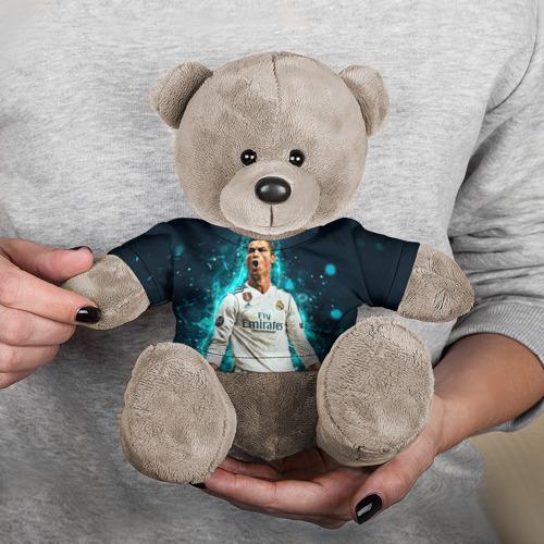 Игрушка Мишка в футболке 3D Роналдо Фото 01