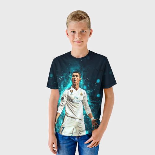 Детская футболка 3D Роналдо Фото 01
