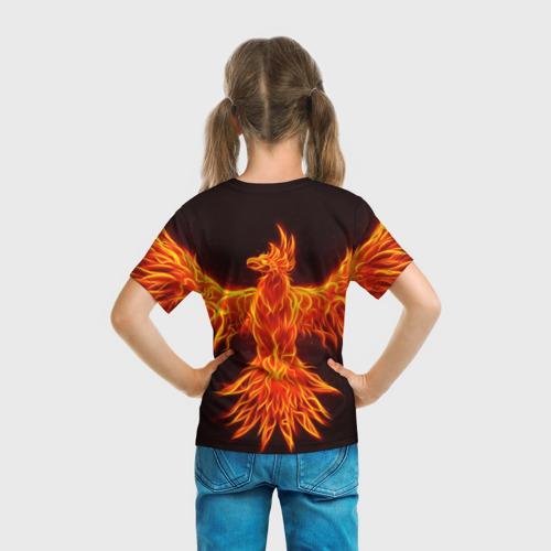 Детская футболка 3D BRAWL STARS CROW   ВОРОН Фото 01
