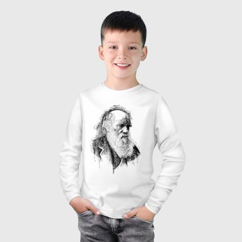 Детский лонгслив хлопок Чарльз Дарвин Фото 01