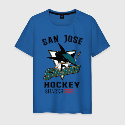 Мужская футболка хлопок SAN JOSE SHARKS Фото 01