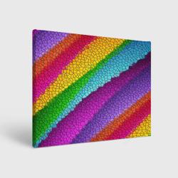 Яркая мозаика радуга диагональ