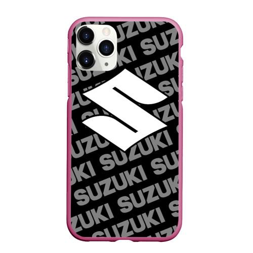 Чехол для iPhone 11 Pro Max матовый SUZUKI (9) Фото 01