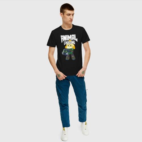 Мужская футболка хлопок Animal Crossing Фото 01
