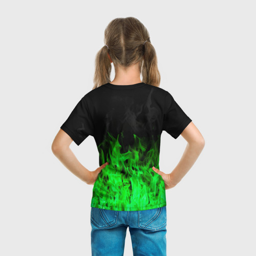 Детская футболка 3D Леон из Бравл Старс Фото 01