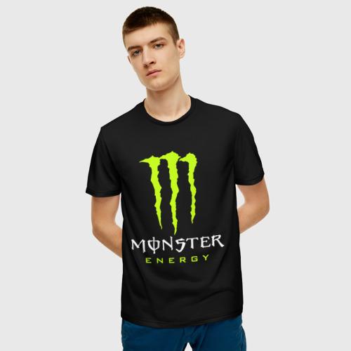 Мужская футболка 3D MONSTER ENERGY Фото 01