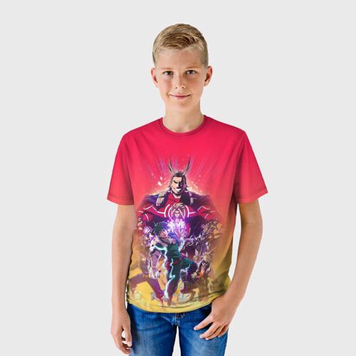 Детская футболка 3D МОЯ ГЕРОЙСКАЯ АКАДЕМИЯ Фото 01