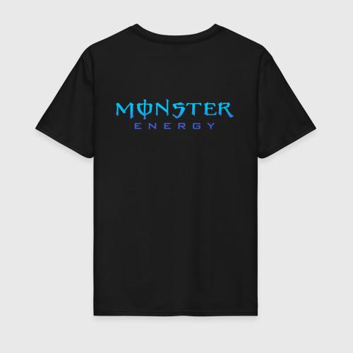 Мужская футболка хлопок MONSTER ENERGY (+спина) (Z) Фото 01