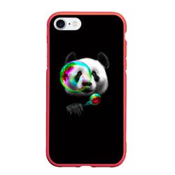 Панда и мыльный пузырь