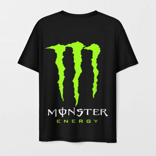 Мужская футболка 3D MONSTER ENERGY (+спина) (Z) Фото 01