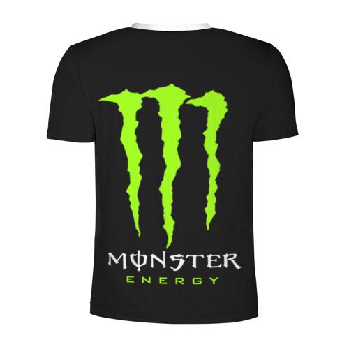 Мужская футболка 3D спортивная MONSTER ENERGY (+спина) (Z) Фото 01