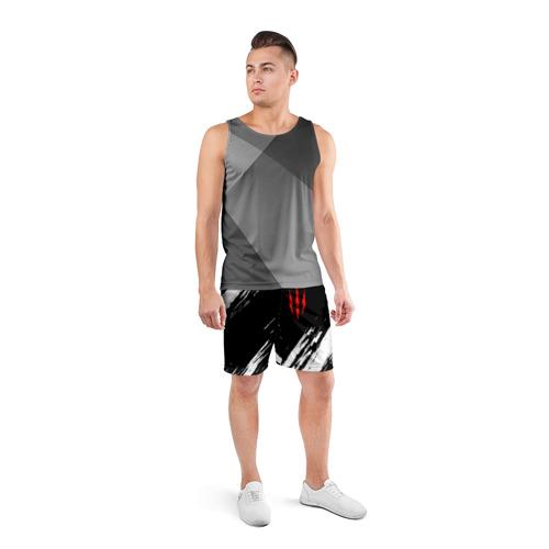 Мужские шорты спортивные ВЕДЬМАК Фото 01