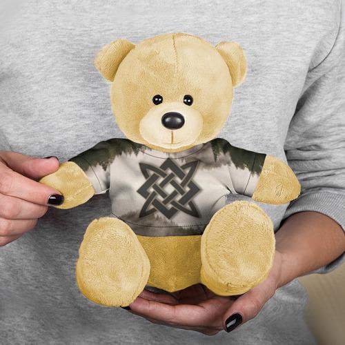 Игрушка Мишка в футболке 3D Квадрат Сварога Фото 01