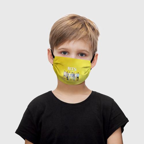 Детская маска (+5 фильтров) BTS Фото 01