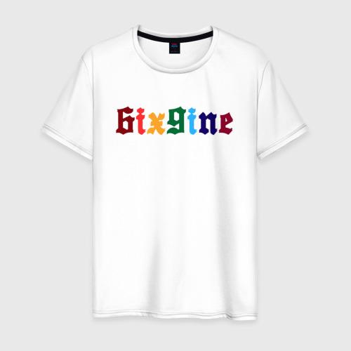 Мужская футболка хлопок 6IXGINE Фото 01