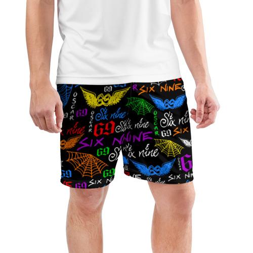 Мужские шорты спортивные 6IX9INE Фото 01