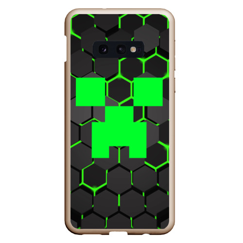 Чехол для Samsung S10E  MINECRAFT CREEPER Фото 01