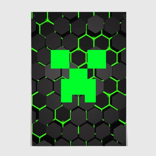 Постер  MINECRAFT CREEPER Фото 01