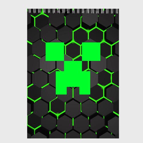Скетчбук  MINECRAFT CREEPER Фото 01