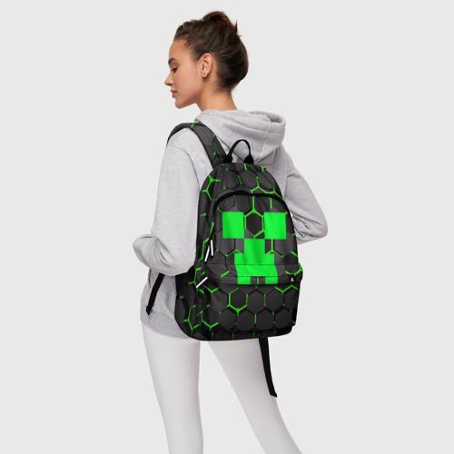 Рюкзак 3D  MINECRAFT CREEPER Фото 01