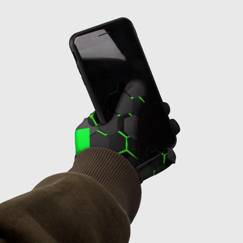 Перчатки 3D  MINECRAFT CREEPER Фото 01