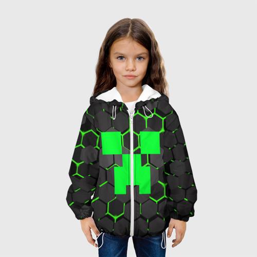 Детская куртка 3D  MINECRAFT CREEPER Фото 01