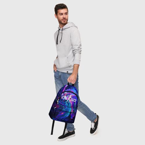 Рюкзак 3D CS GO NEON | КС ГО НЕОНОВЫЙ КОСМОС Фото 01
