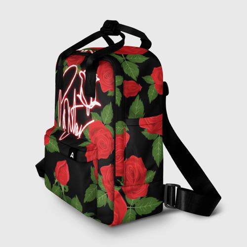 Женский рюкзак 3D Payton Moormeier | Розы Фото 01