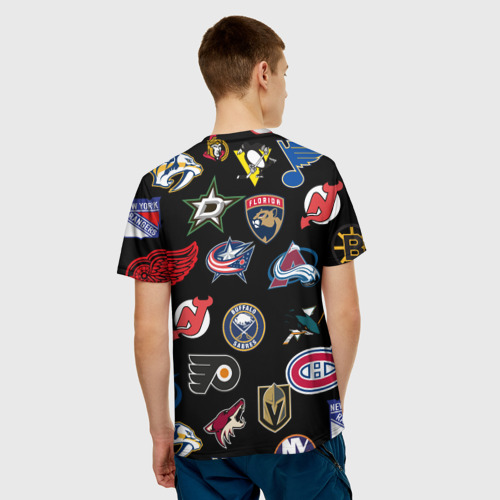 Мужская футболка 3D Chicago Blackhawks (Z) Фото 01