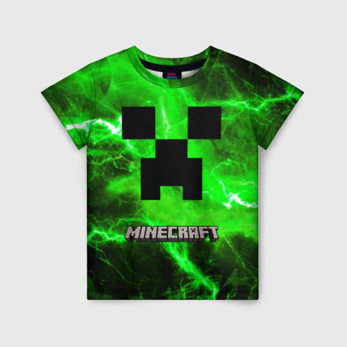 Детская футболка 3D Minecraft. Фото 01