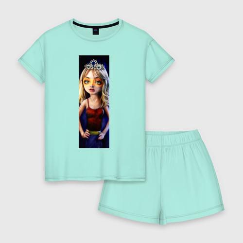 Женская пижама с шортиками хлопок Penny Фото 01
