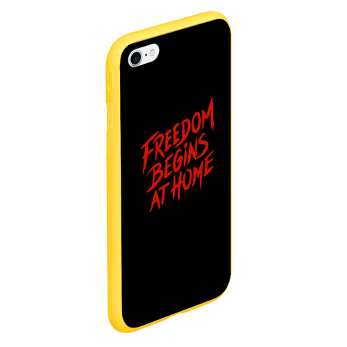 Чехол для iPhone 6Plus/6S Plus матовый freedom Фото 01