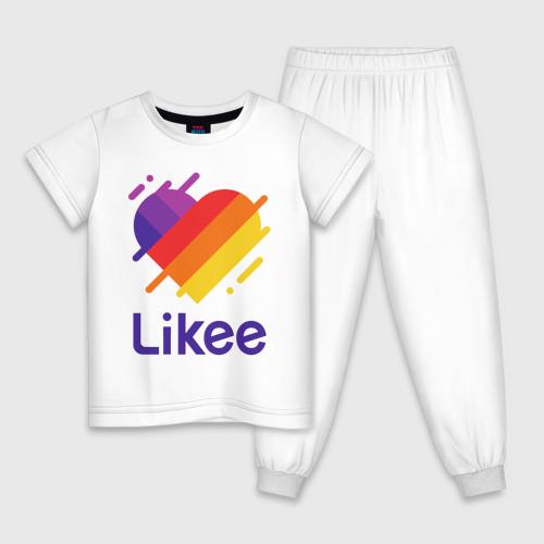 Детская пижама хлопок Likee (LIKE Video) Фото 01