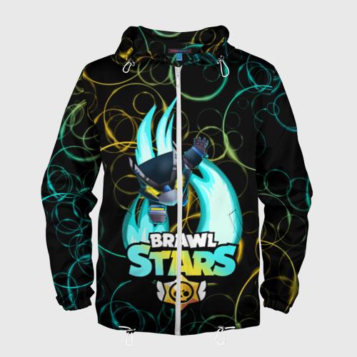 Мужская ветровка 3D BRAWL STARS MECHA CROW. Фото 01
