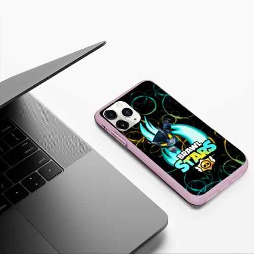 Чехол для iPhone 11 Pro матовый BRAWL STARS MECHA CROW. Фото 01