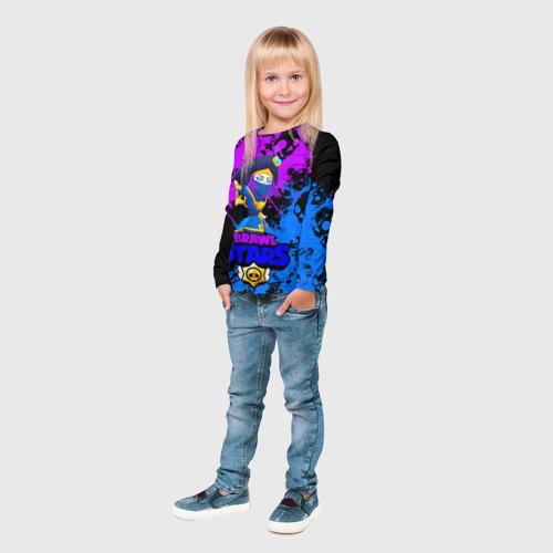 Детский лонгслив 3D Rogue Mortis   Brawl Stars Фото 01