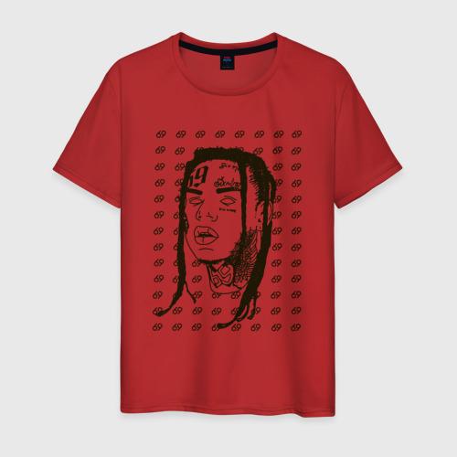 Мужская футболка хлопок Такеши 6ix9ine Фото 01