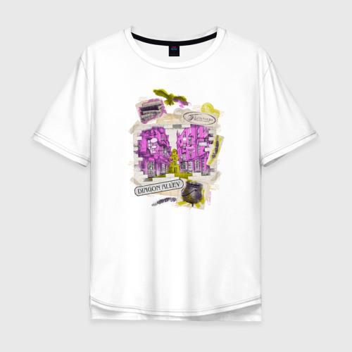 Мужская футболка хлопок Oversize Гарри Поттер Фото 01