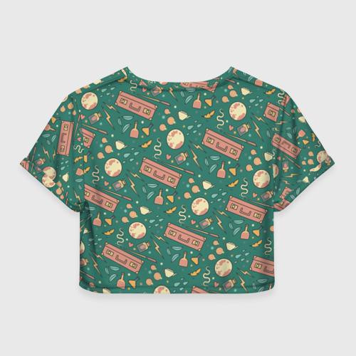 Женская футболка Crop-top 3D Фантастические твари Фото 01
