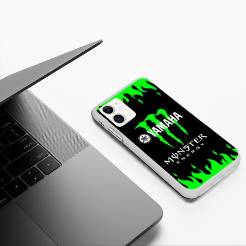 Чехол для iPhone 11 матовый MONSTER ENERGY (Z) Фото 01